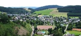 Blick von Villa Baldur auf Grevenstein