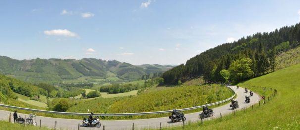 Straße nach Wenholthausen