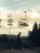 Winterberg - berühmt für die Bike Arena ...