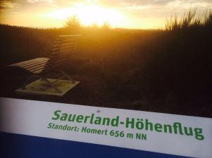 Der Sauerland-Höhenflug ...