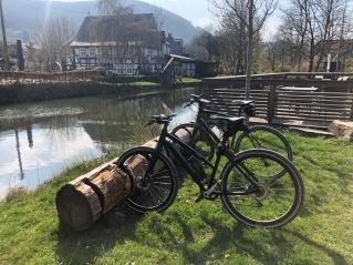 Im wunderschönen Saalhausen im Lennetal, wo im Frühjahr und im Herbst sogar Fischadler Rast machen.